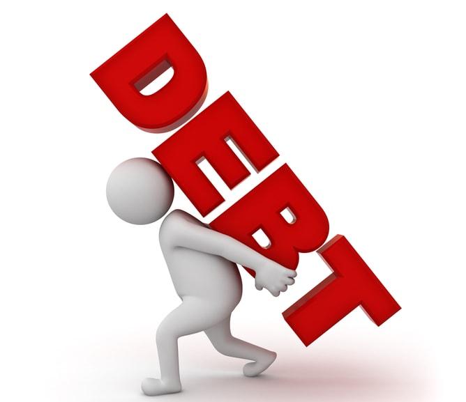 Low debt vs. High debt