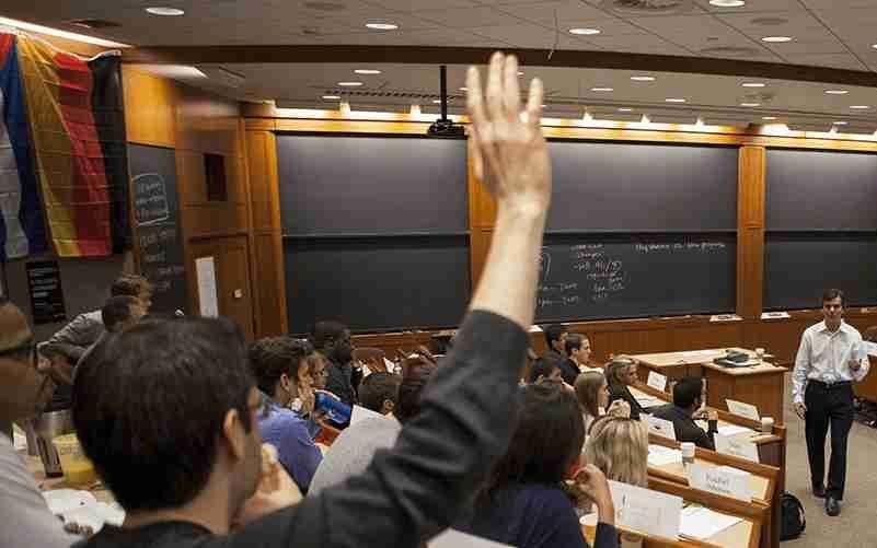 finance classroom